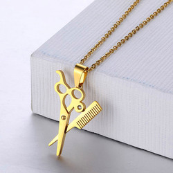 Ожерелья-цепочки из нержавеющей стали для мужчин и женщин в стиле хип-хоп