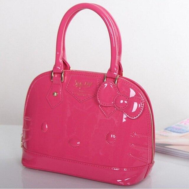 2018 hello kitty bag leather women female tote designer shell handbags high  quality bags clutch bolsas femininas couro 49 c803ded9431fc