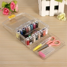 Embroidery Thread Organizer with Needle Threaders Sewing Needles Pins Holder Multi-Function Craft Reusable Accessory