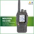 Hot Vender 5 W Original Dual Band VHF UHF Repita Cruz Portátil Presunto Rádio Transceptor WOUXUN KG-UV8D