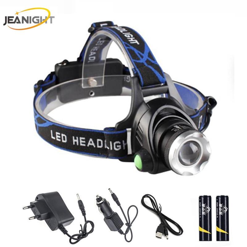 Practical Zk20 Dropshipping 30000lm Inductive Body Motion Sensor Led Head Lamp Light 4* T6 Headlamps 2*cob Headlamp Headlight+2x18650 Battery