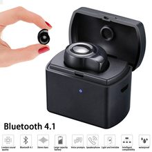 M1 Mini Bluetooth Earphone True Stereo Wireless Earbuds Headset Sports Fashion Invisible With Portable Charging Box