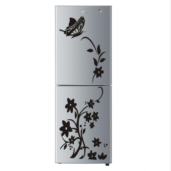 Send sincere shop butterfly flower wall stickers refrigerator decorations diy home decals vinyl art mural posters wallpaper adesivos de paredes