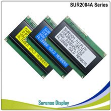 204 20X4 2004 Character LCD Module Display Screen LCM Yellow Green Blue with LED Backlight