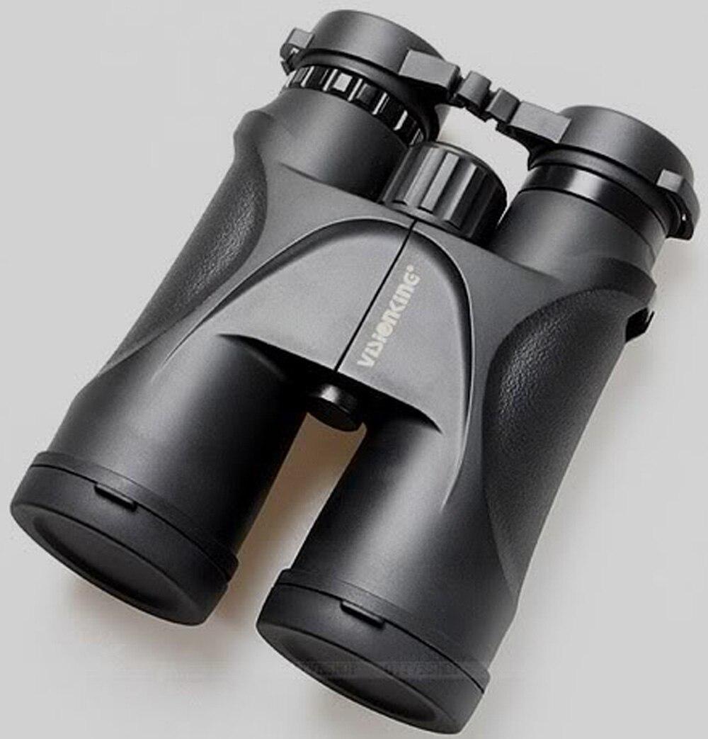 Visionking VS12x50F HD 8x Ergonomic Large Ridged Central Focusing Knob Comfort Sharper Binocular Camping Hunting Telescope