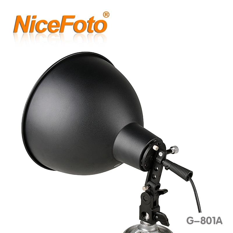 NiceFoto equipamento fotográfico lâmpada de fonte de luz da lâmpada de luz digital g-802a