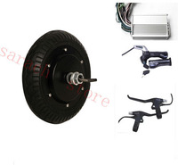 8 inch 36v 400W high speed brushless non gear hub motor ,electric scooter kit , 2 wheel electric scooter
