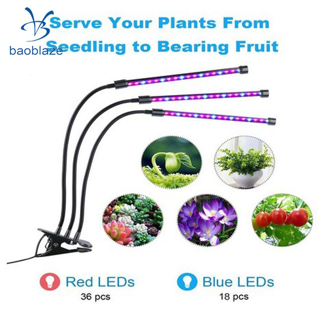 Flexible 27W Three Head LED Plant Grow Light Clip On Desk Light Indoor Lamp johnson after three centuries – new light on texts and contexts