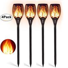 Luces solares 2835smd para exteriores, lámpara de pared para decoración de jardín, 6LED, 2/4