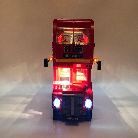 criador cidade blocos brinquedos presentes apenas luz led