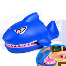 Funny Novelty Gag Speelgoed voor Kids Kinderen Speel Grote Shark Mouth Tandarts Bite Finger Game(China)