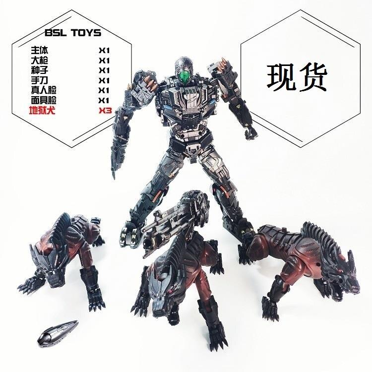 Visual Toys VT-01 Version UT R-01 Steeljaw Lockdown Figure Transformers W//2 Gogs