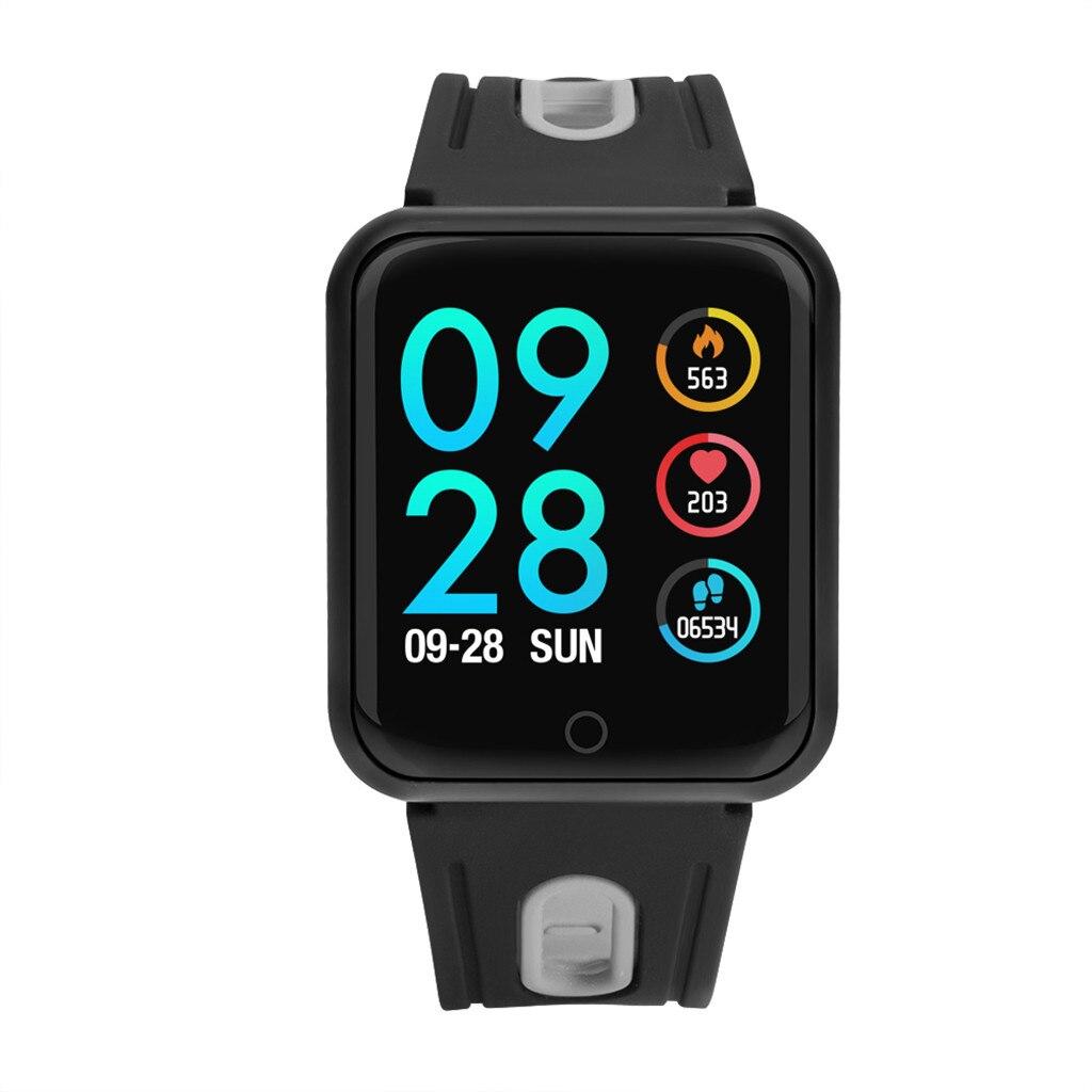 Bluetooth montre intelligente fréquence cardiaque moniteur de pression artérielle Fitness Tracker Bracelet pour Amazfit Bip Smartwatch montres Smartband