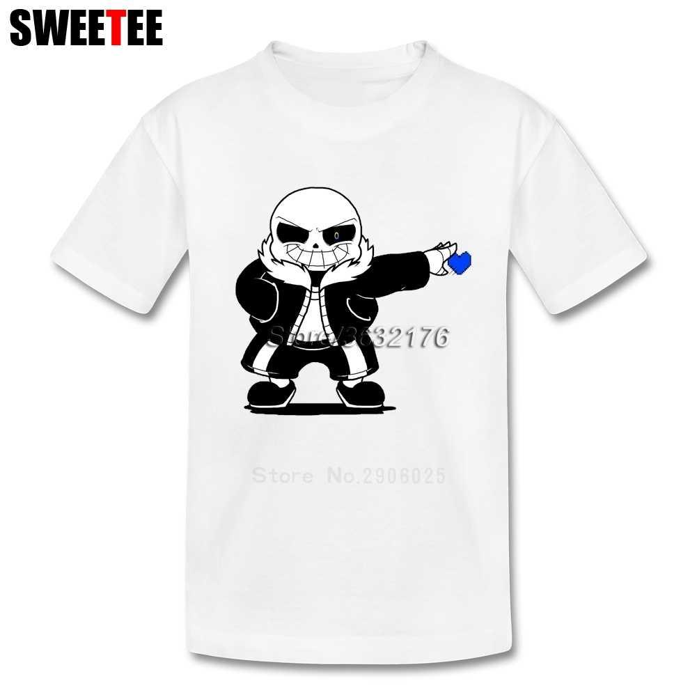 Undertale Sans boy Children Toddler Tees T Shirt Infant Pure Cotton Boy Girl  2018 T- 3816c7228589