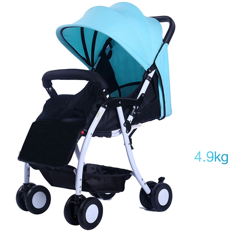 0-3 Years Old Easy Move Portable Bbay Stroller Foldable Baby Carriage Pram Comfortable Cheaper Baby Stroller Flexible Wheels