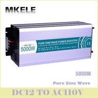 MKP5000 121 Off Grid 5000w Inverter 12vdc To110vac Pure Sine Wave Voltage Converter Solar LED Display