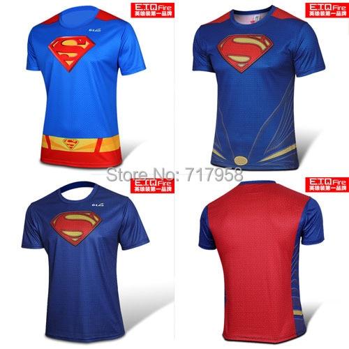 Online Shop Superhero Superman Costume T Shirt Superman Returns