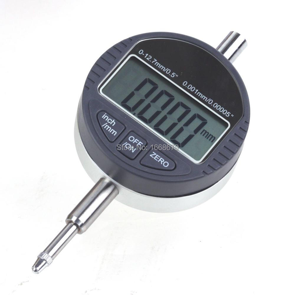 EBOWAN 0 001mm Dial Indicator Gauge Digital 0 001mm 0 00005 Range 0 12 7mm 0