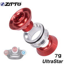 "ZTTO Road Bike Fork Steerer UltraStar Headset Nut Expansion Screw Expander Plug Compression 1 1/8""Tube Bicycle Parts Accessories(China)"