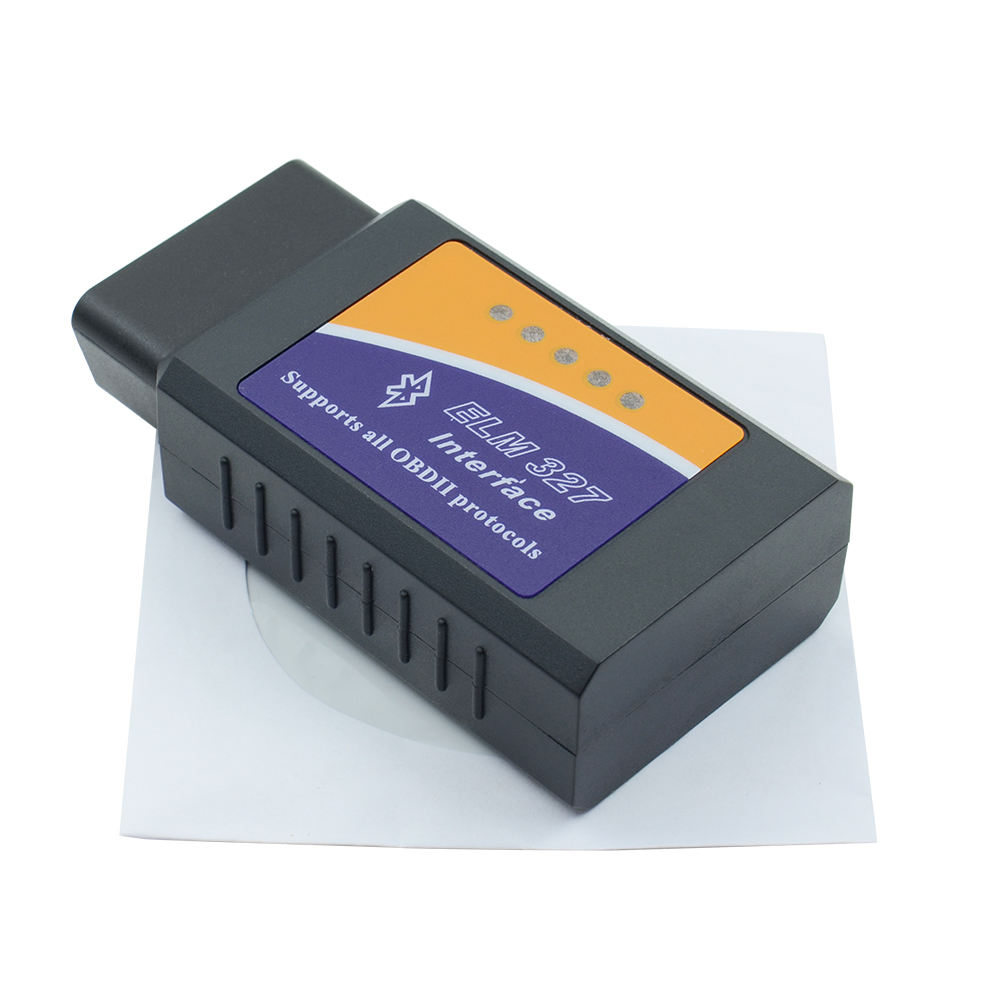 Newest V2.1 <font><b>Elm327</b></font> Bluetooth Adapter <font><b>Obd2</b></font> Elm 327 Auto Diagnostic <font><b>Scanner</b></font> For Android Elm-327 Obd 2 ii Car Diagnostic Tool image