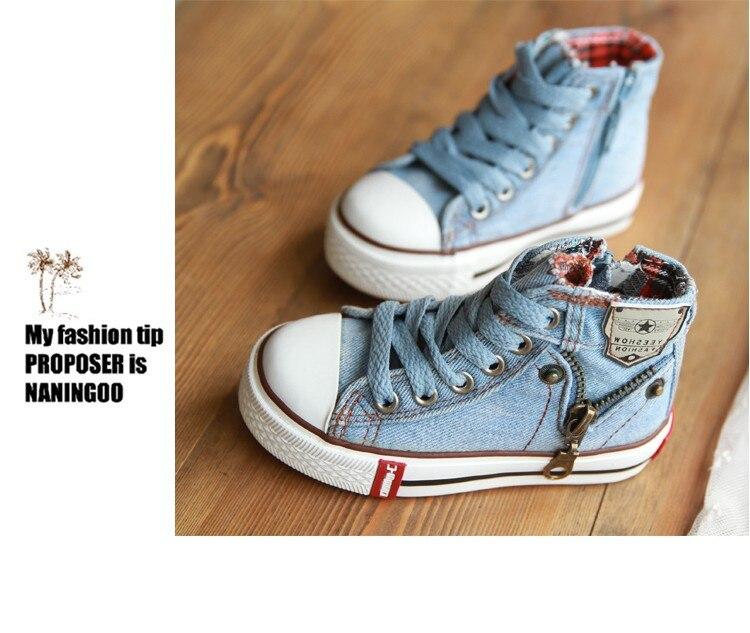 2018 Toile Enfants Chaussures de Sport Respirant Garçons 13