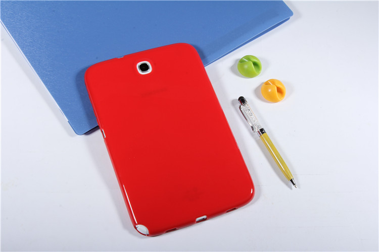 Ultra Slim Waterproof Soft Silicone Rubber TPU Back Cover Protective Case For Samsung Galaxy Note 8.0 GT N5100 N5110 Tablet чехол клип кейс samsung protective standing cover great для samsung galaxy note 8 темно синий [ef rn950cnegru]