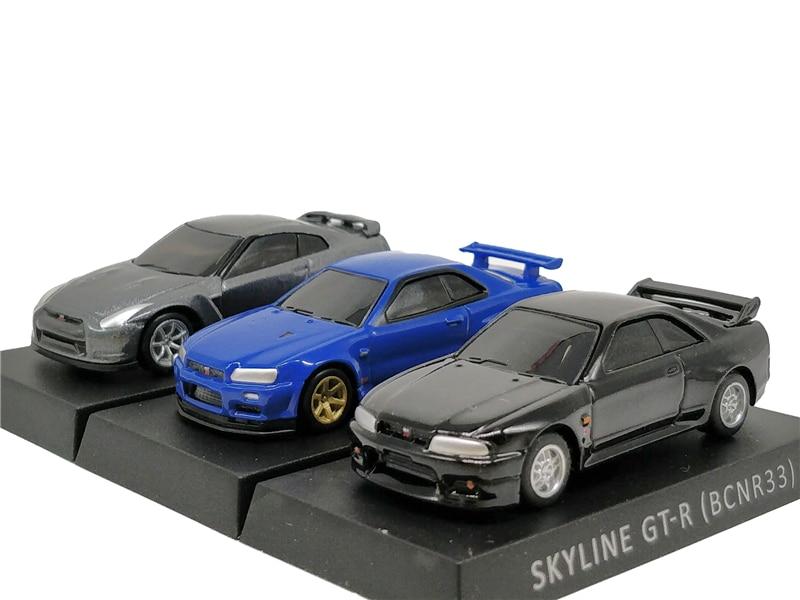 1:72 Nissan Skyline R33 R34 R35 Diecast Model Car