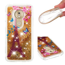 Fashionable cartoon painting is suitable for Motorola G7 Play(The American) dynamic quicksand anti - falling mobile phone shell