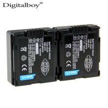 2 PCS CGA-DU07 CGA DU07 VBD-070 DZ-BP07S Caméscope Caméra Batterie Pour Panasonic CGA-DU06 CGA-DU07A DZ-BD70A DZ-BD70 BX35 BX37E