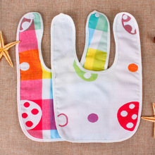 2016 NEW Hot Cotton Baby Bibs Infant Embroidered Saliva Towels Burp Cloths Funny Baby Wear Baby Accessories