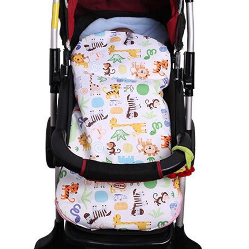 Cute Baby Stroller Sleeping Bag Cartoon Animal Pushchair Windproof Warm Foot Muff Toddler Stroller Sleepsacks