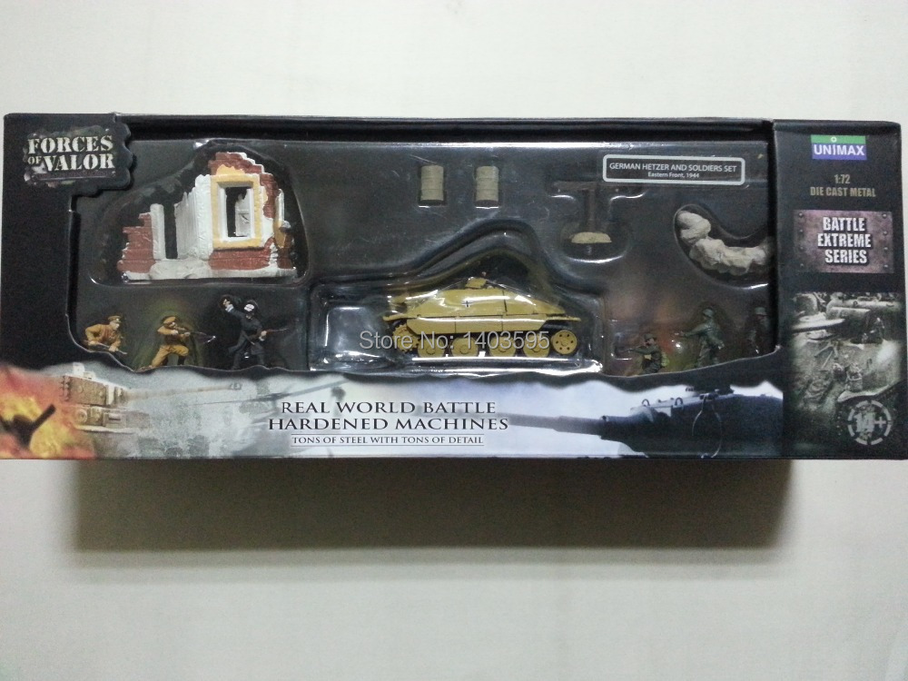 ФОТО Forces of Valor FOV Diecast Metal #85054 1:72 GERMAN HETZER AND SOLDIERS SET Original Boxed Brand New In Stock & Free Shipping