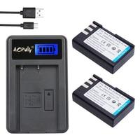 AOPULY 2* Batteries EN EL9 EN EL9 ENEL9 Rechargeable Camera Battery + LCD USB Charger For Nikon EN EL9a D40 D40X D60 D3000 D5000