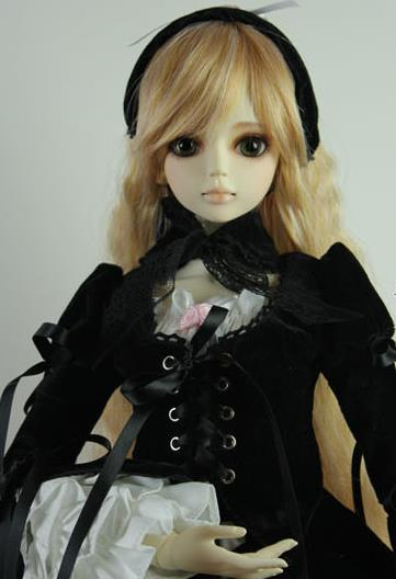 doll accessories bjd clothes 1/3 1/4 1/6 female girl bjd Suigintou similar dress costume suit cute lolita skirt western loyal sweetie chocolate mousse european retro outfit dress suit for bjd doll 1 6 yosd doll clothes lf9