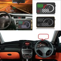 Liislee Car HUD Head Up Display For Peugeot 206 207 301 307 308 407 508 2008 3008 Safe Screen Projector / OBD II Connector