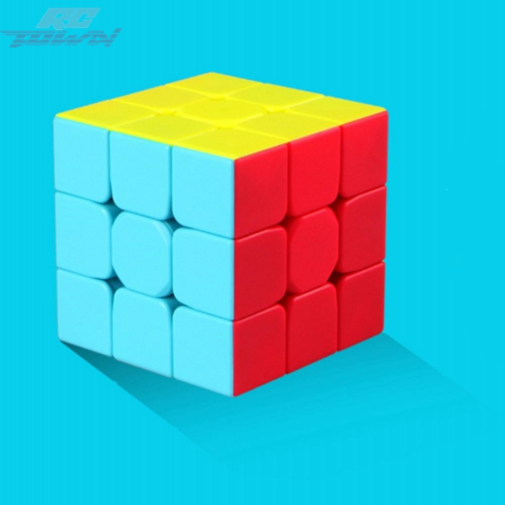RCtown Warrior 3rd order Stickerless Magic Puzzle Cube Brain Exercise Toy zk30
