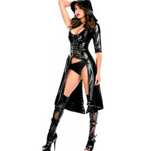 Latex Faux Leather Costume PU Lingerie