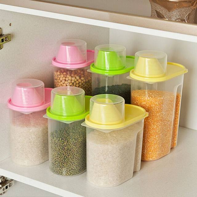 image & Online Shop Large Plastic Food Storage Containers Kitchen ...
