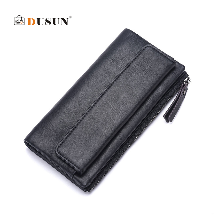 DUSUN Long Wallet Women Travel Passport Cover Card Case Credit card holder Bank Card Package Soild Coin Money Bag Purse Female women travel organizer passport holder card package credit card holder wallet document package fashion multi pockets card pack
