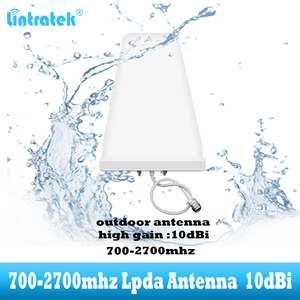 Image 4 - 2G 3G 4G Outdoor cell phone amplifier Antenna 10dbi LDPA 700   2700 mhz cellular repeater For GSM LTE DCS Mobile Signal Booster
