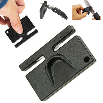 Ceramiczne kieszonkowe narzędzie mini szlifierka osełka ostrzałka do ostrzenia ostrzałka do szlifowania kamienia bushcraft grinder knife tanie i dobre opinie MEIFUGAO