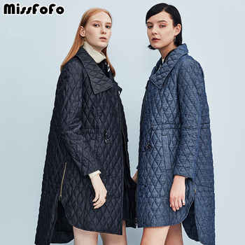 MissFoFo Womens Down Coats CLJ Jackets Fashion Vest Small Plaid Denim Winter Parka Slim Down No Vest Twinset New Down Outwear - DISCOUNT ITEM  0% OFF All Category