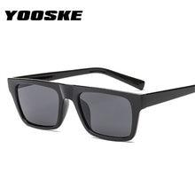 895a0c4f17f9d YOOSEK rectángulo gafas de sol hombres mujeres gafas de sol Flat top marca  de lujo diseñador gafas Retro gafas UV400