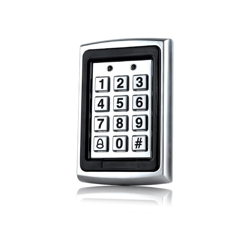 10pieces 1000users Metal Keypad access controller 125Khz Rfid Card access control machine