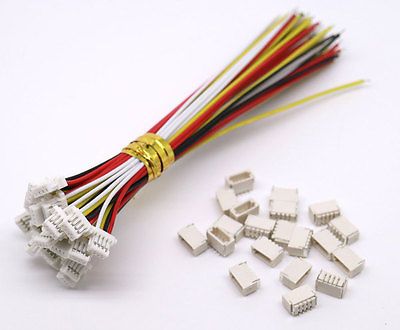 20 SETS Mini Micro SH 1.0 4-Pin JST Connector with Wires Cables 100MM Customer-made Customization Factory Directly Whole OEM Hot armani junior сумка через плечо