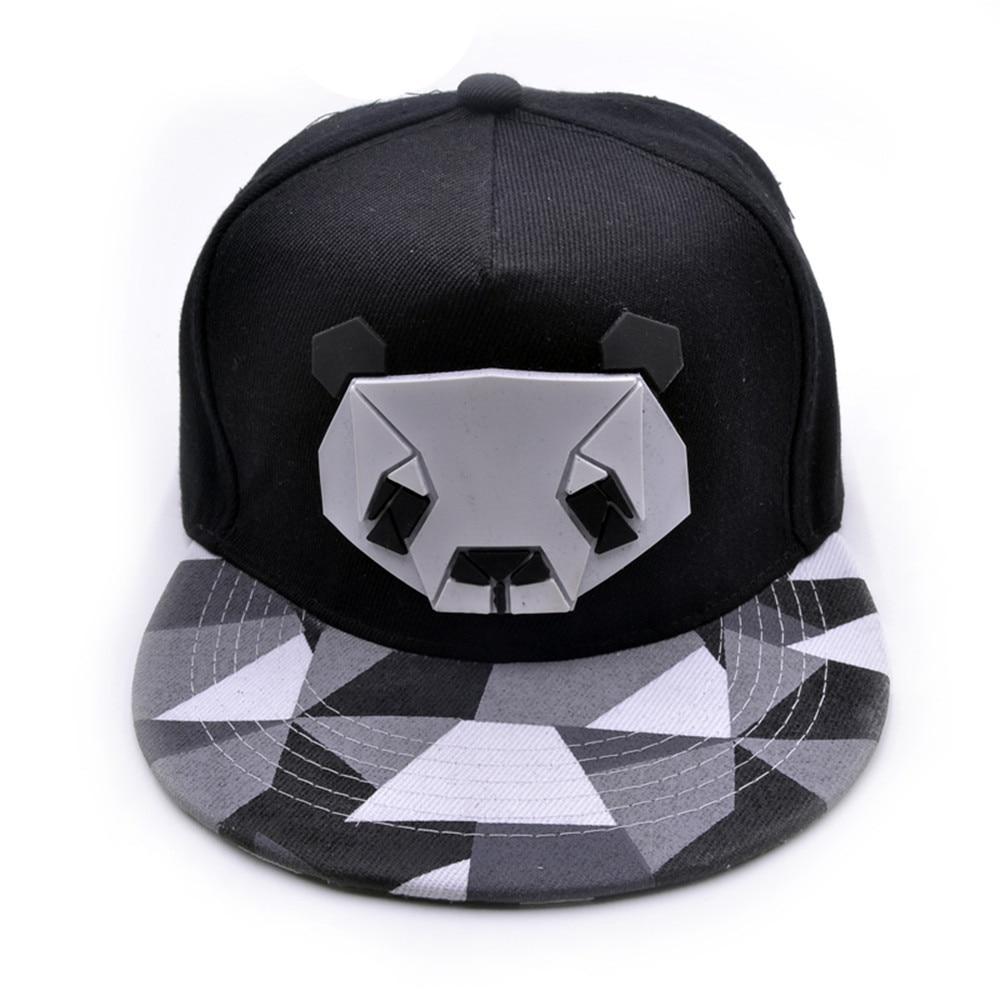 2019 New Summer   Baseball     Cap   cotton   Caps   Panda Snapback Summer Hip Hop Fitted   Cap   Hats For Men Women gorras mujer chapeu