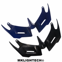 MKLIGHTECH For YAMAHA YZF-R3 YZF R3 2014-2018 Motorcycle Front Fairing Aerodynamic Winglets ABS Plastic Cover Protection Guards