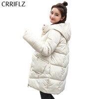 Parka For Women Winter Jacket Women Coats Zipper Pocket Hooded Coats Ladies Park Cotton Padded Lining Autumn Female Parkas