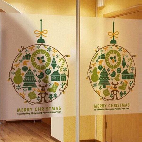 Stunning Christmas Wall Sticker Decorations Gallery - Wall Art ...