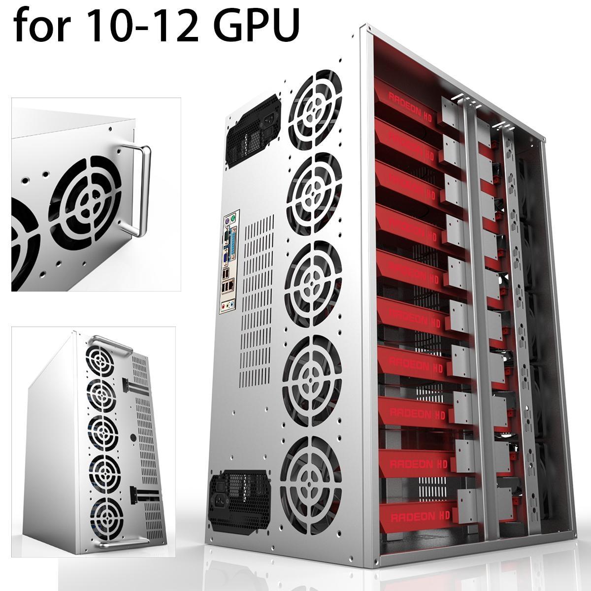 Efficiency 1600W Modular PC Power Supply 10 12 GPU 12V 24PIN 8PIN For Miner Mining High